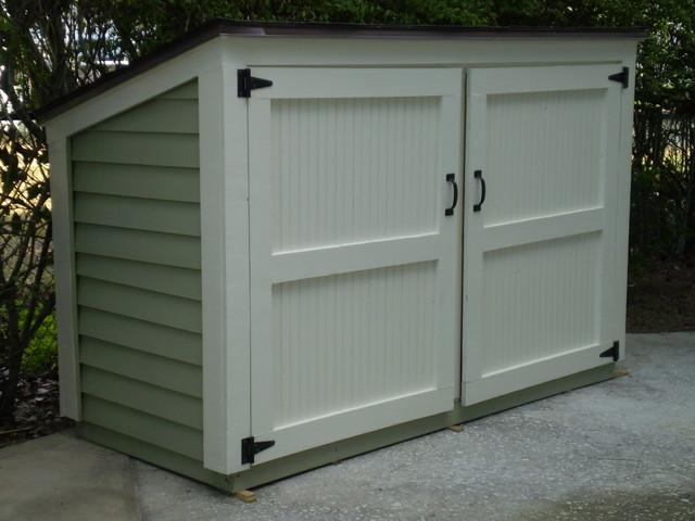 outdoor garbage storage shed bin ~ Free 12000 Shed Pla