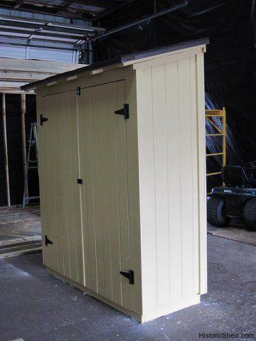 Narrow storage shed | Garden storage shed, Narrow shed, Shed stora