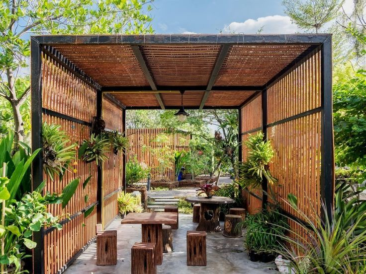 36 Amazing Garden Structure Design Ideas | Outdoor pergola, Modern .