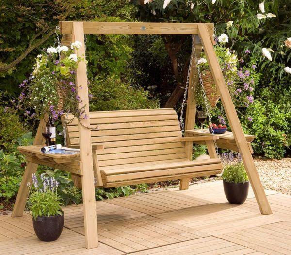 Garden Swings: The Enchanting Element in Your Backyard | Garden .