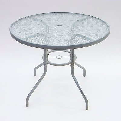 Round Garden Table, 1970s for sale at Pamo