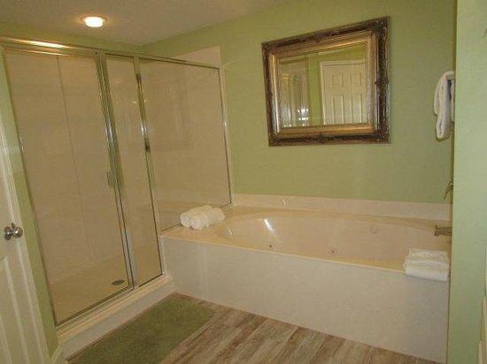 MASTER BATHROOM W/GARDEN TUB & SEP SHOWER - Picture of Palacio .