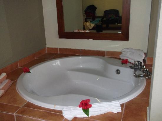 Big garden tub - Picture of Catalonia Royal Bavaro, Punta Cana .