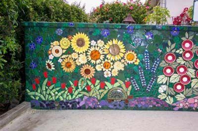 Pin by Jane Shute on Mosaic | Mosaic flowers, Mosaic wall art .