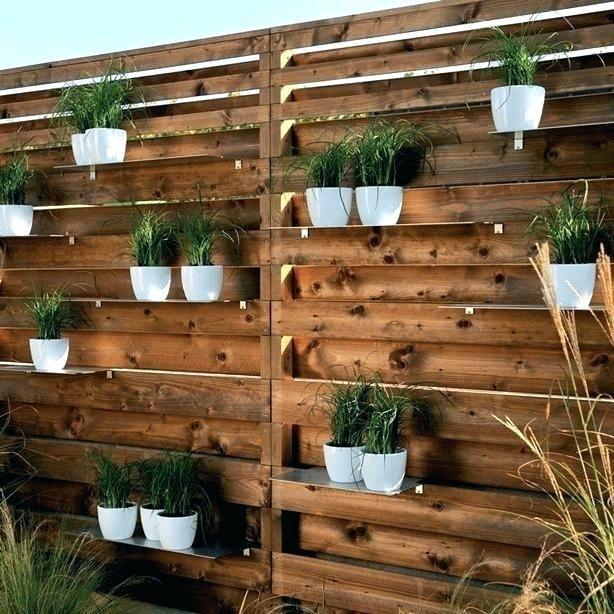 wooden garden wall wood wall garden wood wood garden wall pottery .