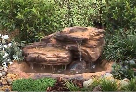 Small Garden Waterfalls Kits, Artificial Rocks & Water Featur