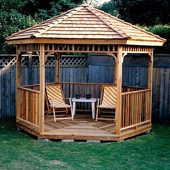 Gazebo Kits - Wood DIY Kit - FREE Shipping - Garden, Lawn or Pat