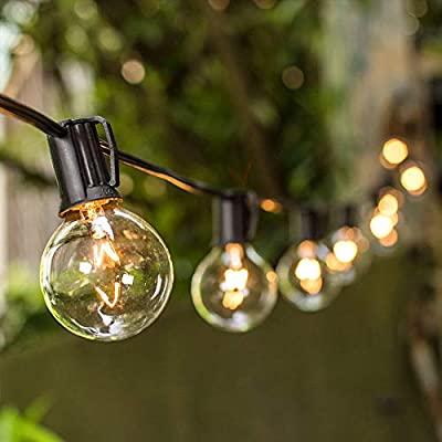 Amazon.com : VMANOO Outdoor String Lights 25Ft Globe Patio .