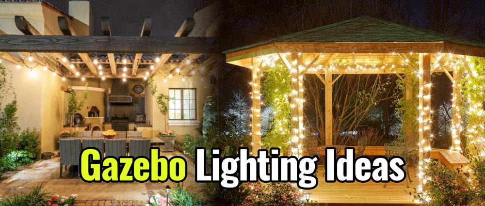 12 Best Gazebo Lighting (2020) - Ideas for Gazebo & Pergola Ligh