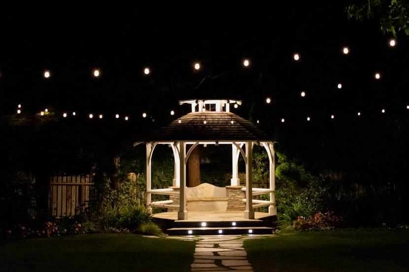 BEST Gazebo Lights [Pergola & Gazebo Lighting Ideas]   LED Light .