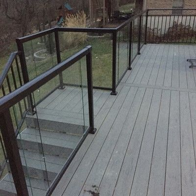 Glass Railing Deck Designs, Ideas, & Pictures | Page 2 | Decks.c