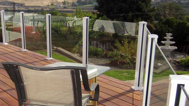 Century Scenic Glass Railing System - DecksDire