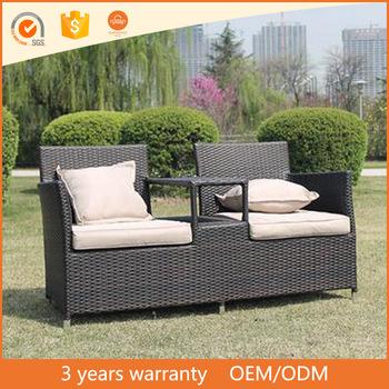 High Quality Hartman Outdoor Aluminium Frame Pe Rattan Sofa Set .