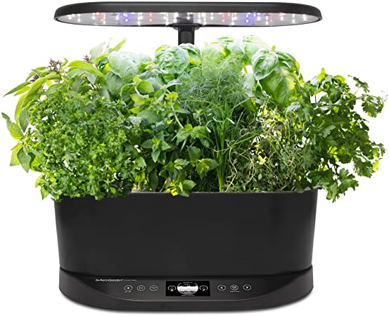 Amazon.com : AeroGarden Bounty Basic Indoor Hydroponic Herb Garden .