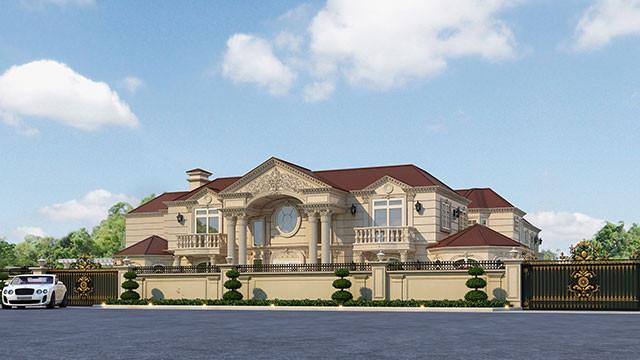 Exterior design - luxury interior design company in Californ