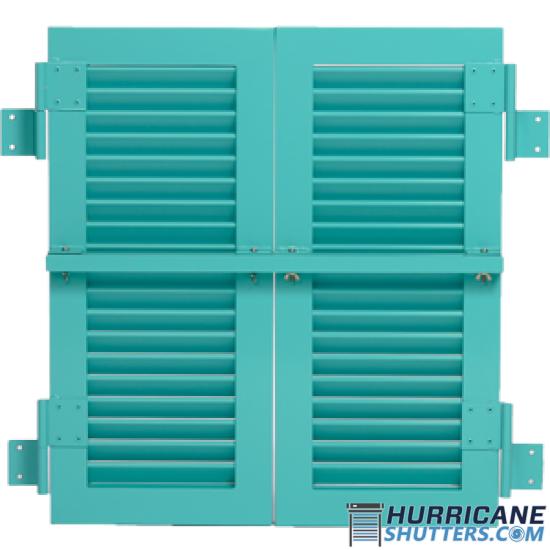 "Colonial Impact Hurricane Shutter - (2"" Full Vie"