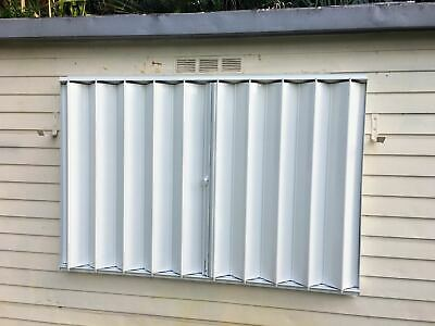 53X64 DIY Hurricane Accordion Shutters - Do it yourself and save a .