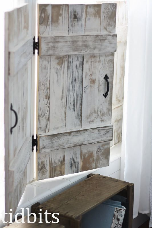 tidbits: A Little Big Girl Bedroom | Indoor shutters, Window .