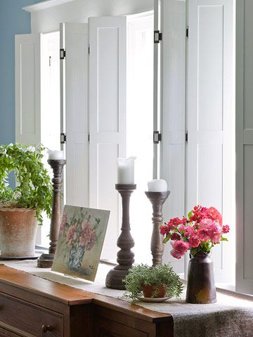 This Vintage-Inspired Makeover Is a Must-See | Indoor shutters .