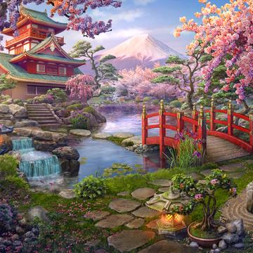 Japanese Garden | Hidden City Wiki | Fand