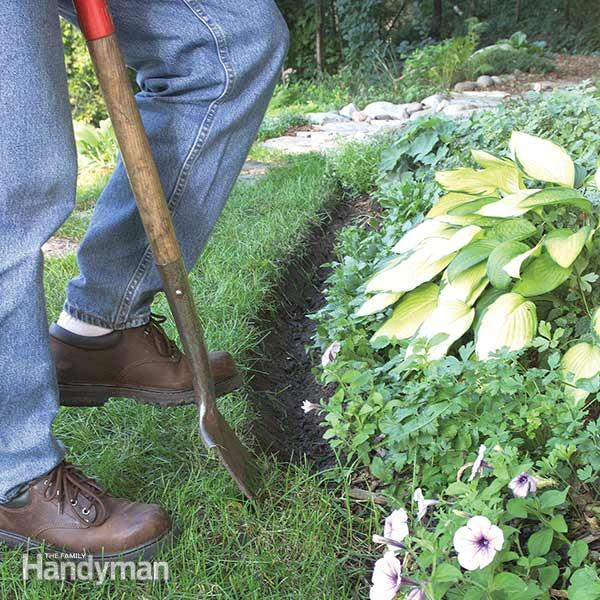 Landscape Edging | The Family Handym
