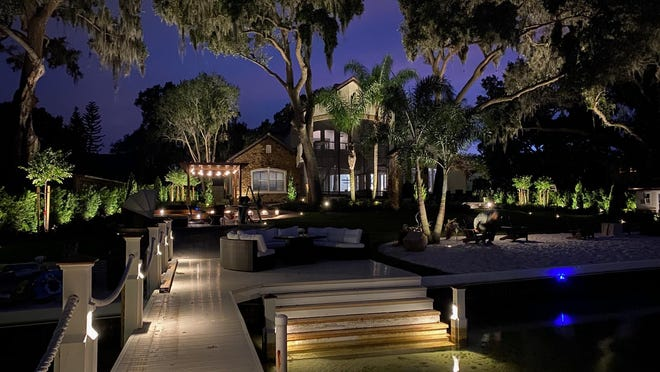 MARNI JAMESON: Landscape Lights Add Finishing Flourish to Yard .