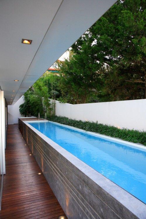 Unusual Outdoor Swimming Pool Designs | Modern pools, Pool houses .