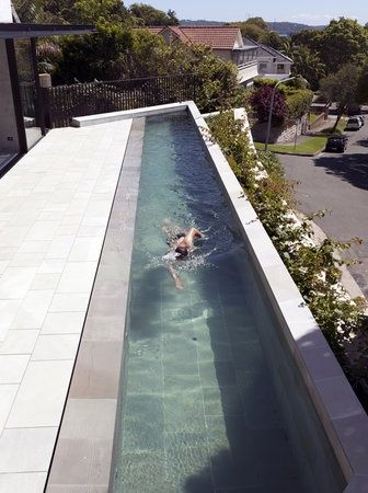 Lap pool at home #home #swimming pools | Pool houses, Swimming .