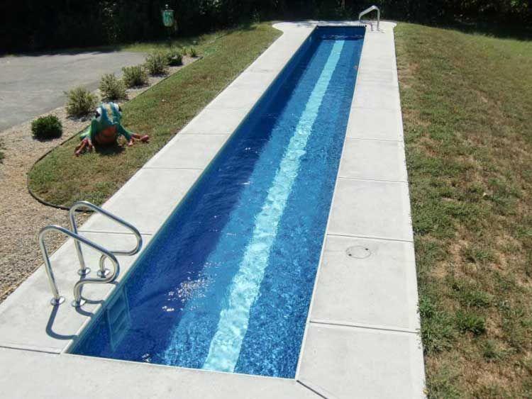 Vinyl liner lap pool | Lap pools backyard, Cool swimming pools .