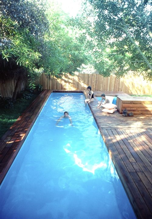 The Stevenson Projects Lap Pool & Spa | Small pool design, Diy in .