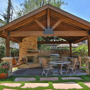 75 Beautiful Large Patio With A Gazebo Pictures & Ideas - August .