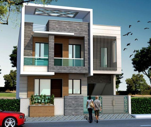 Latest Home Elevation Design | House elevation, Bungalow house .
