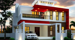 Compound House Latest Design | 2 storey house design, Duplex house .