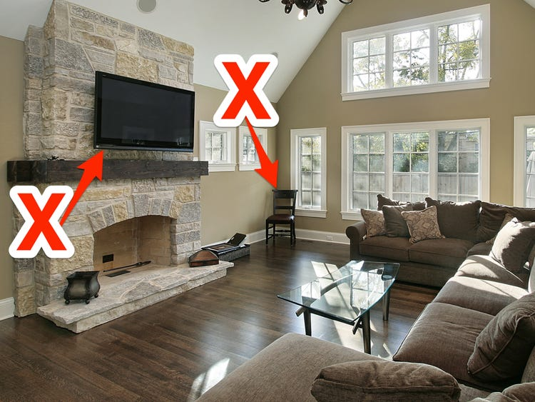Interior designers reveal the mistakes you're making in a living .