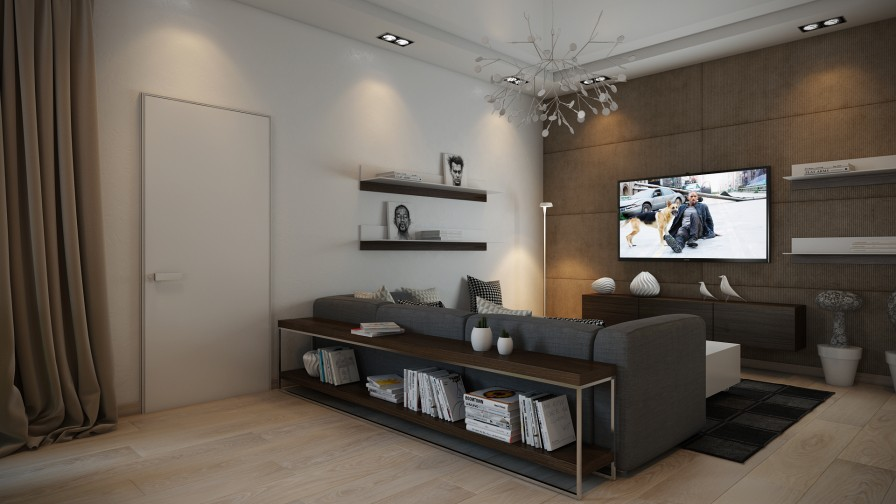 Modern lounge | Interior Design Idea