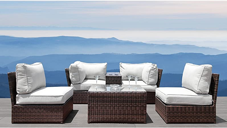 Amazon.com: Living Source International Luxury Patio Furniture Set .