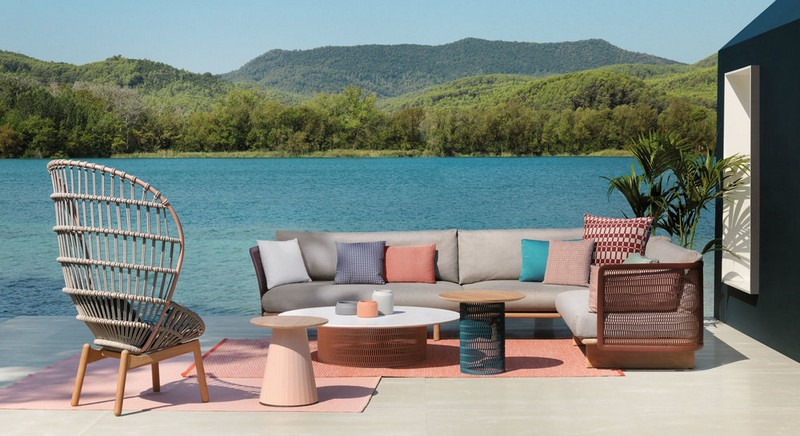 Luxury Outdoor Furniture Shines at Milan Design Week 2018 8 .