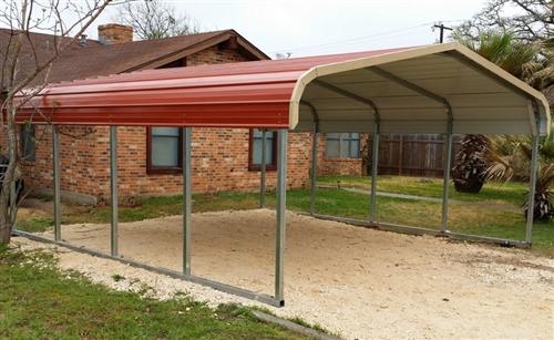 18x21 regular metal carport - Alan's Factory Outl