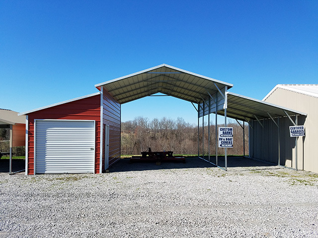 Winter Is a Great Time to Purchase a Metal Carport | Yoders Dutch .
