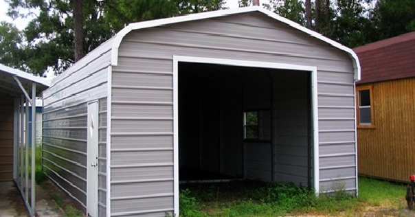12x26 Regular Style Metal Garage - Buy 12x26 Metal Garage Onli