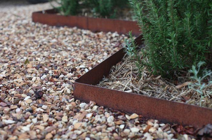 Pros of garden edging garden edging rusted-metal-garden-edging .