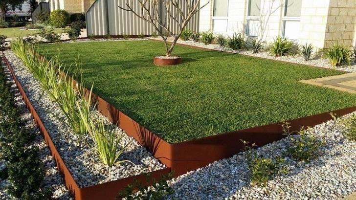 Metal edging ideas – garden landscape edging advantag
