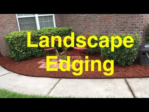How To Install COL-MET Metal Landscape Edging - STOP Losing Mulch .