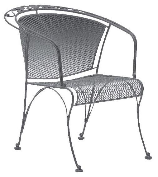 Woodard Briarwood Coil Spring Patio Chair & Reviews | Wayfa