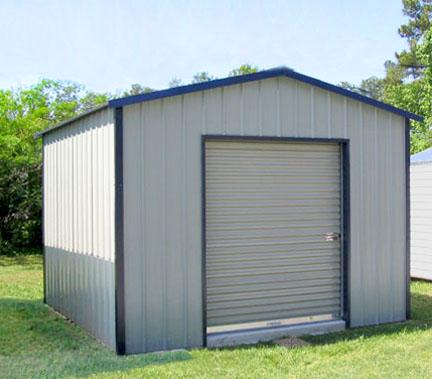 Metal Garages, Sheds and Storage Buildings Custom Built for Yo