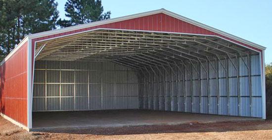 Large Outdoor Storage Sheds, Wood & Metal Buildin