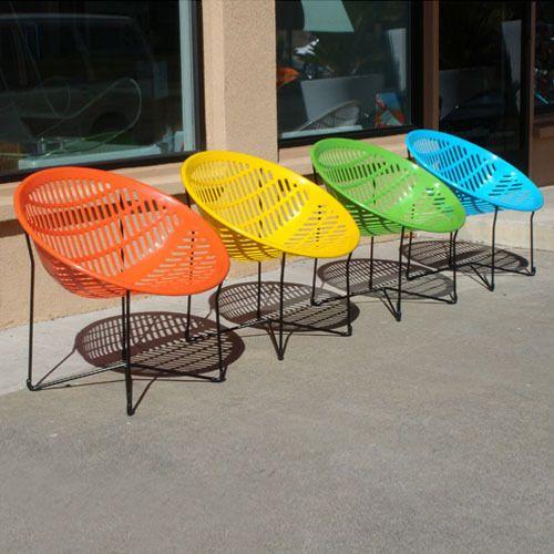 Patio Pop: Neon Accents for Outdoor Rooms | Contemporary outdoor .