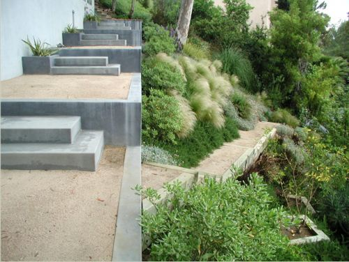 Image result for modern hillside landscape | Modern landscaping .
