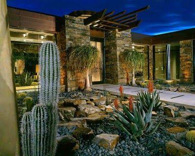 Interesting Ideas for Garden Design | Contemporary landscape .