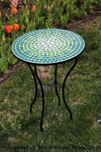 Mosaic Table ~ Picture | Cubiertas de mesa en mosaico, Diseños en .